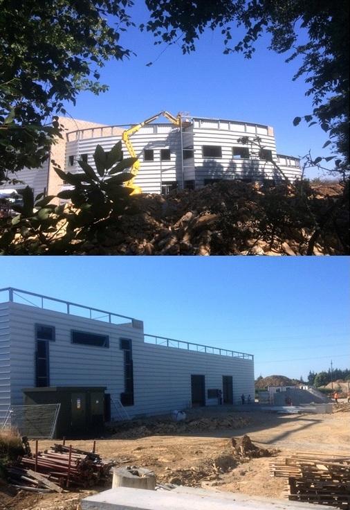 Photo nouveau bâtiment