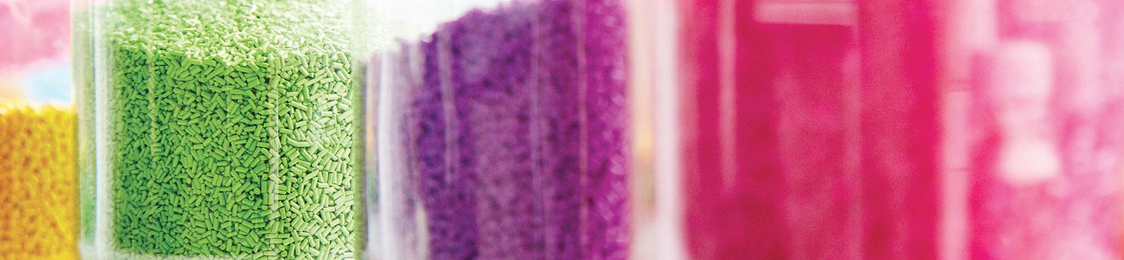 Elixance, spécialiste de la coloration des matières plastiques